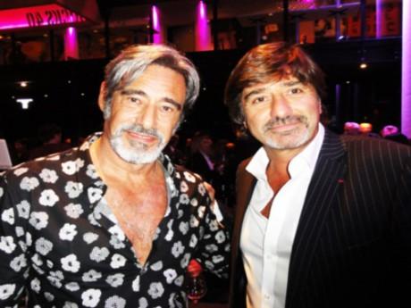 Le goût de Michel Neyret (ici avec l'acteur Gérard Lanvin) pour le monde de la nuit sera également au programme de l'émission - DR LyonClubbing
