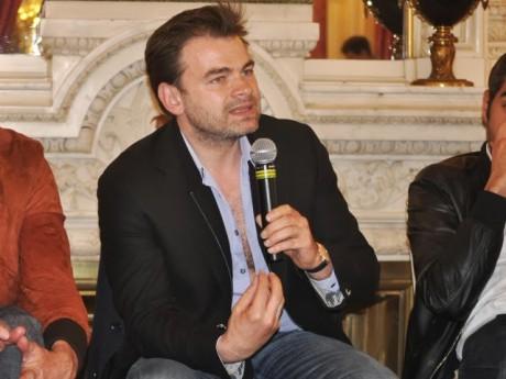Clovis Cornillac lors de son passage à Lyon pour la promo de son film - LyonMag.com