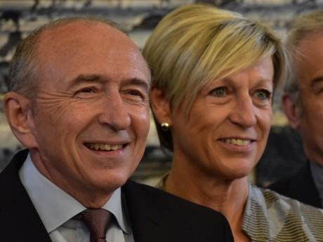 Gérard Collomb et Véronique Pugeat - LyonMag