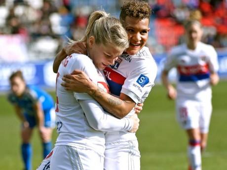 Victoire des Lyonnaises ce samedi - DR ©OLfeminin