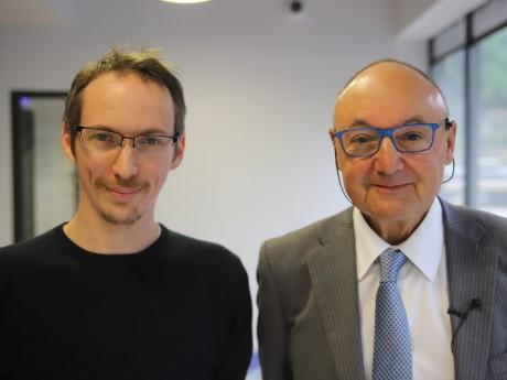 Martin Durigneux et Gérard Angel - LyonMag