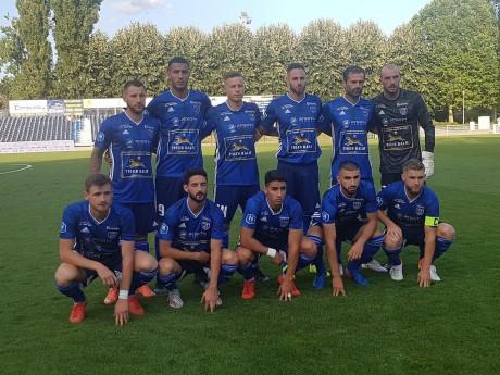 L'équipe de Villefranche-Beaujolais - DR ©@FCVB_officiel