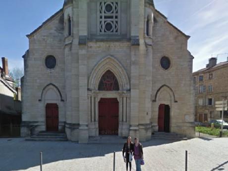 L'église d'Anse dans le Rhône