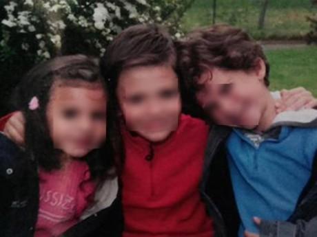 Les trois enfants avaient été enlevés par leur père, principal suspect dans la mort de leur mère - DR