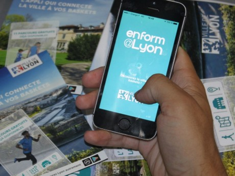 L'application EnForm@Lyon - LyonMag