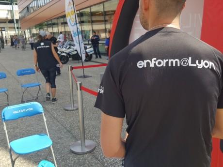 Lancement des trois nouvelles boucles de l'application enforme@Lyon à la Duchère - LyonMag