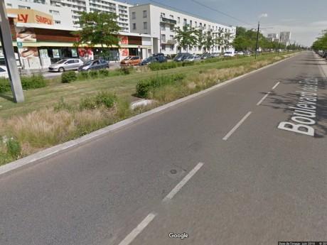 Les lieux de l'accident - DR Google Street View