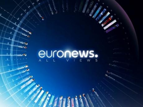 La nouvelle identité visuelle d'Euronews - DR