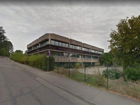 Les anciens locaux d'Euronews à Écully - Capture Google Maps