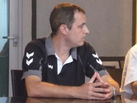 L'entraineur de l'ASUL, Fabrice Chalendar - Lyonmag.com