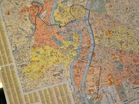 La carte de l'arrivée du Tour - LyonMag.com