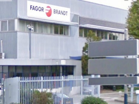 L'usine FagorBrandt à Gerland - photo DR Google