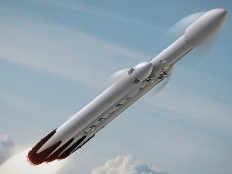 La Falcon Heavy de SpaceX - DR