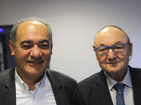 Ahmad Fazeli et Gérard Angel - LyonMag