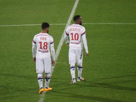 Fekir et Lacazette, le duo encore gagnant du match contre Toulouse - LyonMag