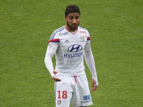 Nabil Fékir a marqué le seul but lyonnais de la rencontre - LyonMag