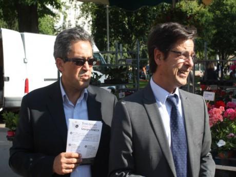 Georges Fenech et Emmanuel Hamelin - LyonMag