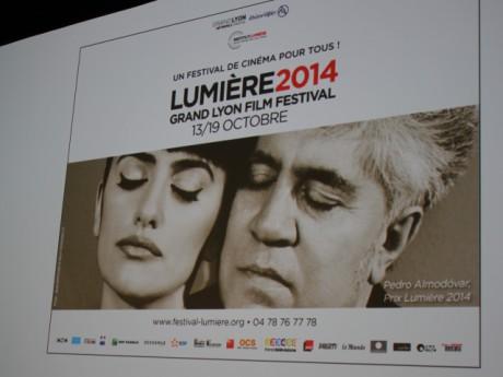 Affiche officielle du Festival Lumière 2014 - Photo LyonMag