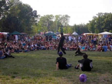 Le festival Woodstower a battu des records de fréquentations en 2015 - LyonMag.com