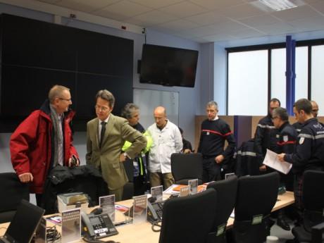Stéphane Rouvé dans le PC sécurité de la Fête des Lumières - LyonMag