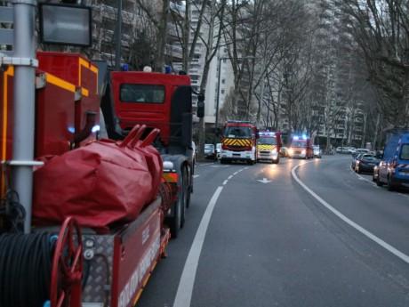 Les secours sur le quai Gillet - LyonMag
