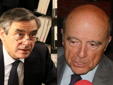 François Fillon et Alain Juppé - montage LyonMag