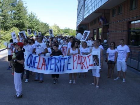 La marche blanche en mémoire de Florian entre Villeurbanne et Lyon - LyonMag