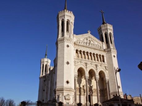 La basilique de Fourvière retenue par la Région - Lyonmag.com