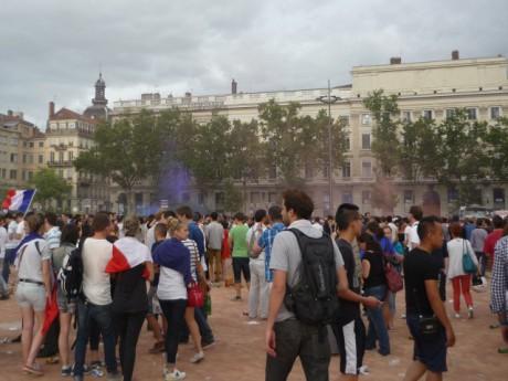 Le match des Bleus diffusé vendredi soir sur la place Bellecour - LyonMag