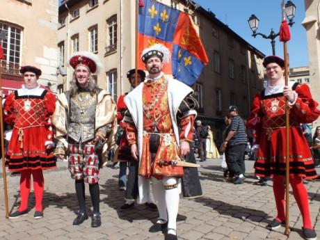 Fête médiévale à Lyon. DR