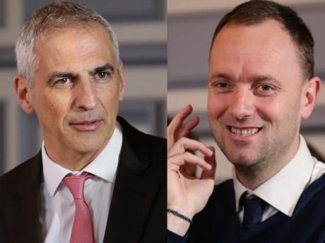 Jean-Luc Fugit et Thomas Gassilloud - Montage LyonMag