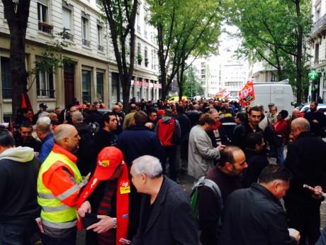 250 personnes réunies ce mercredi à Lyon - LyonMag