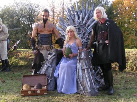 Des fans de Game of Thrones lors d'une convention aux Etats-Unis - DR