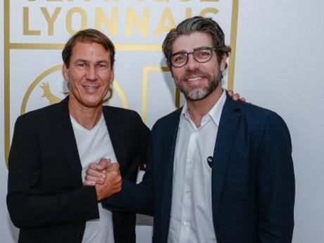 Rudi Garcia et Juninho - DR