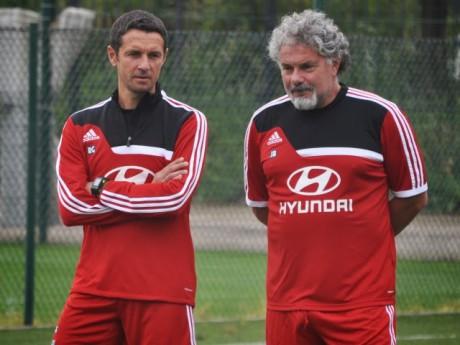 Joël Bats, ici avec Rémi Garde - LyonMag