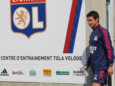 Rémi Garde à Tola Vologe - Photo Lyonmag.com