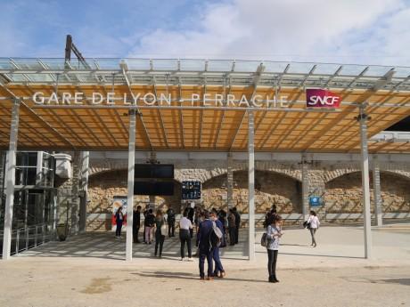 La nouvelle entrée sud de Perrache - LyonMag