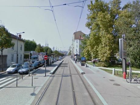 L'arrêt Garibaldi-Berthelot où est survenu l'accident - DR Google