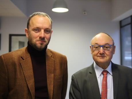 Thomas Gassilloud et Gérard Angel - LyonMag