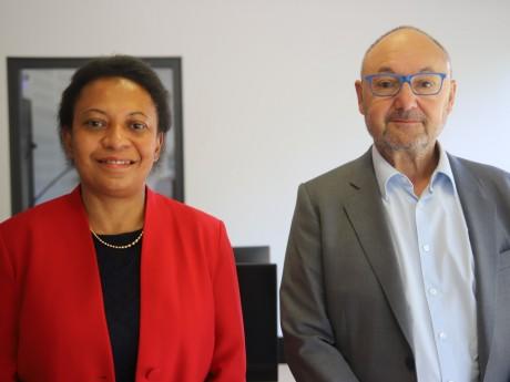 Hélène Geoffroy et Gérard Angel - LyonMag.com