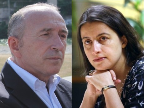 Gérard Collomb et Cécile Duflot - Photos Lyonmag.com/DR