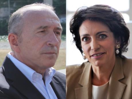 Gérard Collomb et Marisol Touraine - DR