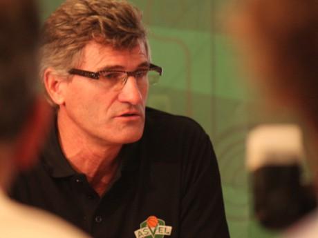 Gilles Moretton, le président de l'ASVEL  - Photo Lyonmag.com