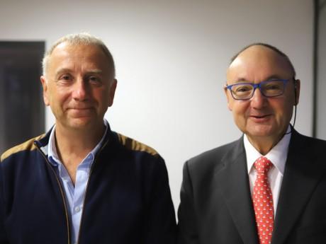 Alain Giordano et Gérard Angel - LyonMag