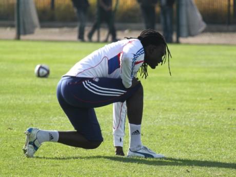Bafé Gomis à l'entrainement - Photo Lyonmag.com