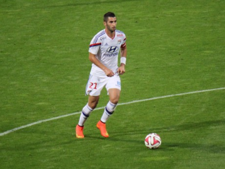 Maxime Gonalons sera sur la pelouse du Parc OL mercredi pour affronter Zagreb - Lyonmag.com