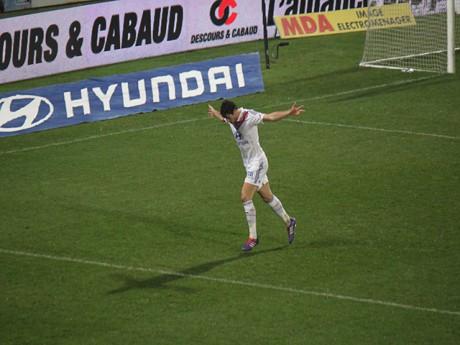 Gourcuff a signé l'un des deus buts de la rencontre - LyonMag