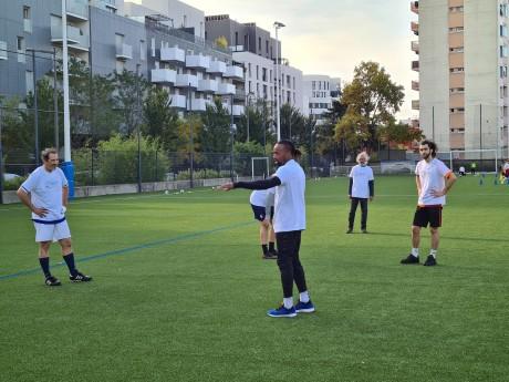 Sidney Govou et ses coéquipiers d'un jour - LyonMag
