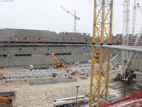 Les riverains du Grand Stade pourront visiter le chantier dimanche - LyonMag.com