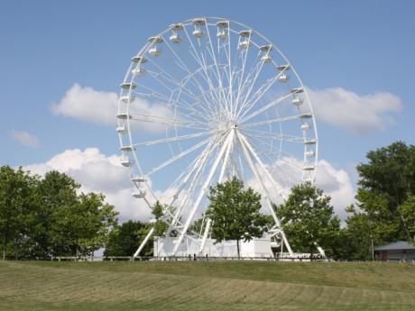 Une grande roue sera installée au Parc de Miribel Jonage cet été - DR